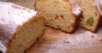 простой и вкусный кекс на сгущенке