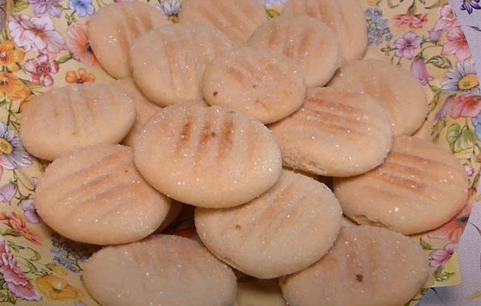 песочное печенье на подсолнечном масле