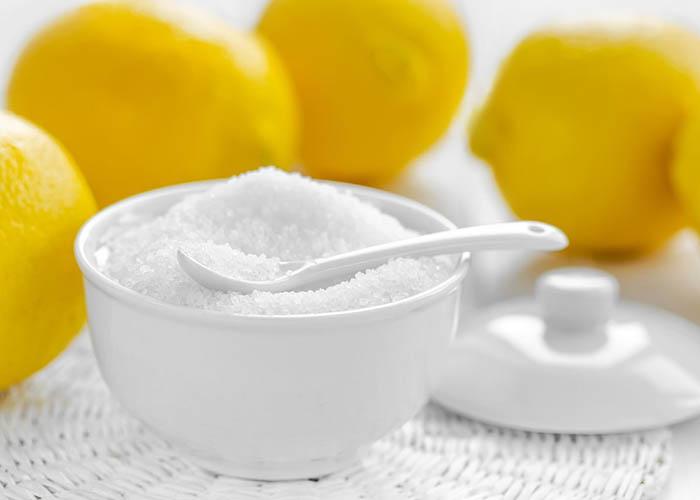 кристаллы лимонной кислоты